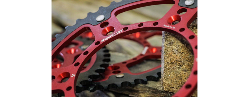 Kit chaine et transmission - Alex Enduro Parts